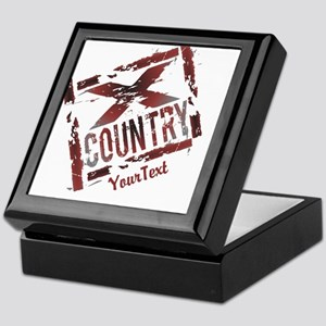 Customize XC Cross Country Keepsake Box
